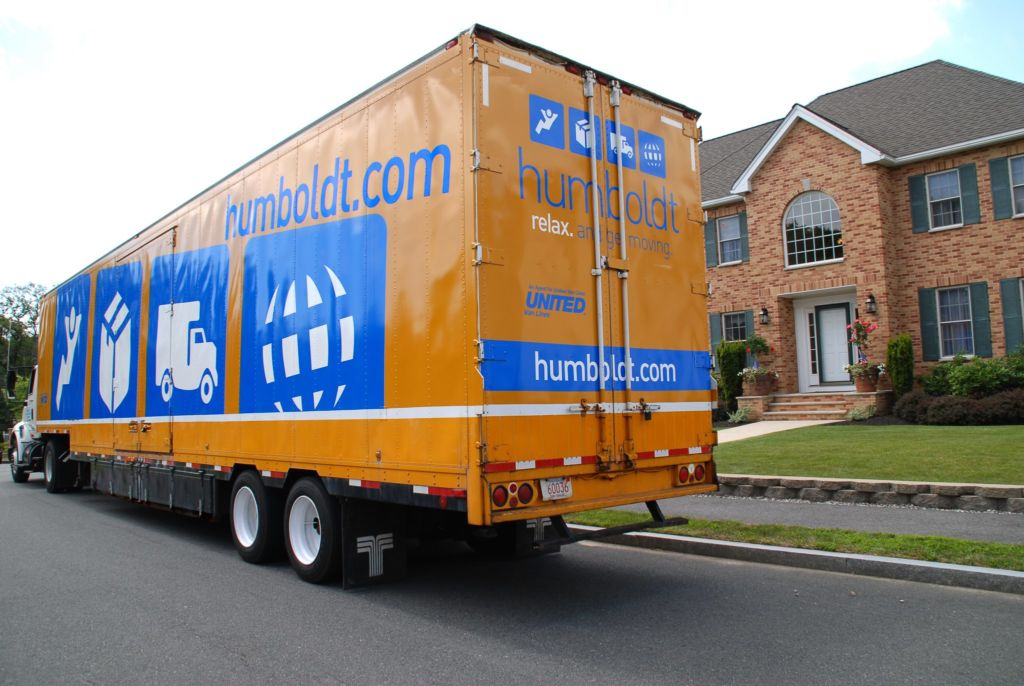 Truck in front of house