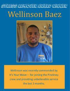 Award Winner - Wellinson Baez April 2016 with SRA Logo
