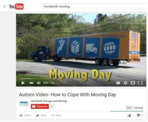 Moving Day Autism