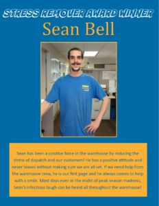 Award Winner - Sean Bell June 2016