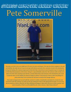 Award Winner - Pete Somerville June 2016 with SRA logo