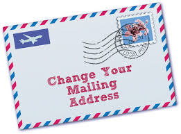 Moving Change Address
