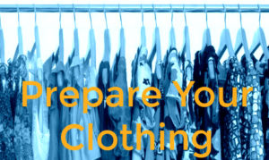 Prepare Clothing for Long Term Storage
