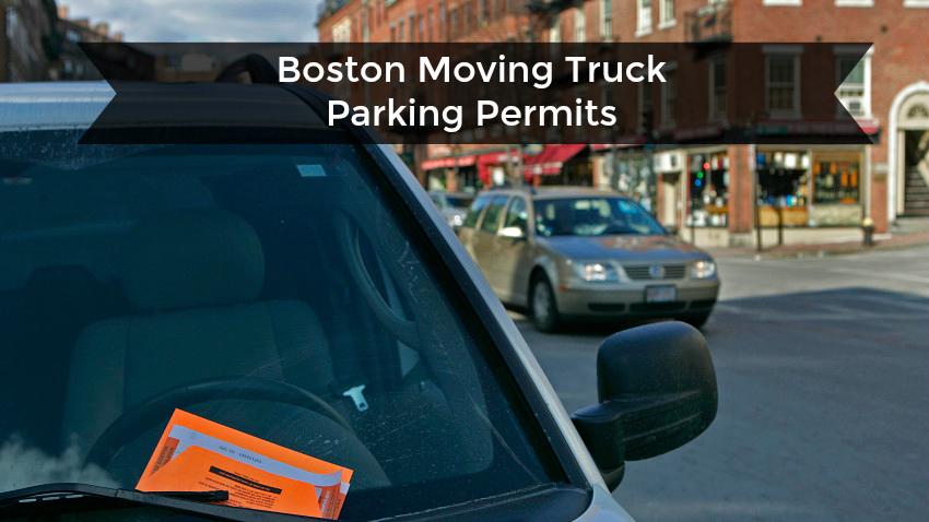boston moving truck parking permits