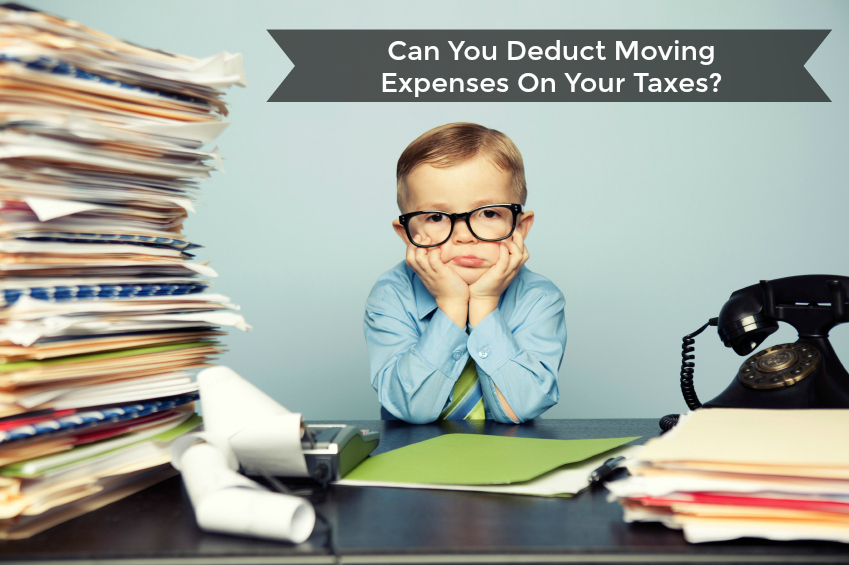 Moving Expenses Tax Deductible
