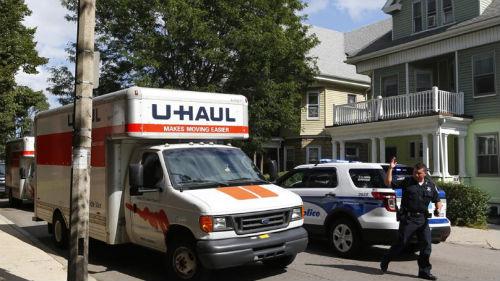moving truck boston