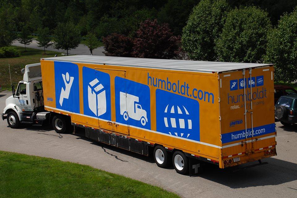 Humboldt moving truck