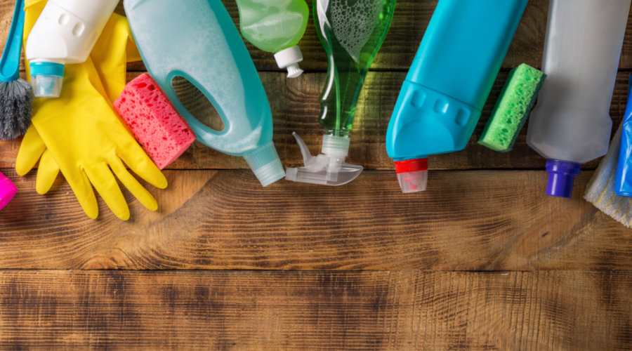 cleaning supplies winter tips