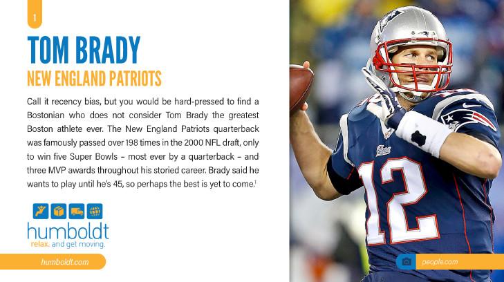 tom brady boston athlete