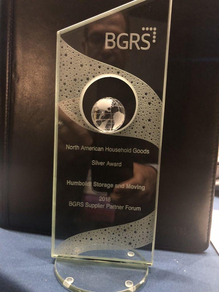 Humboldt's BGRS Silver Award