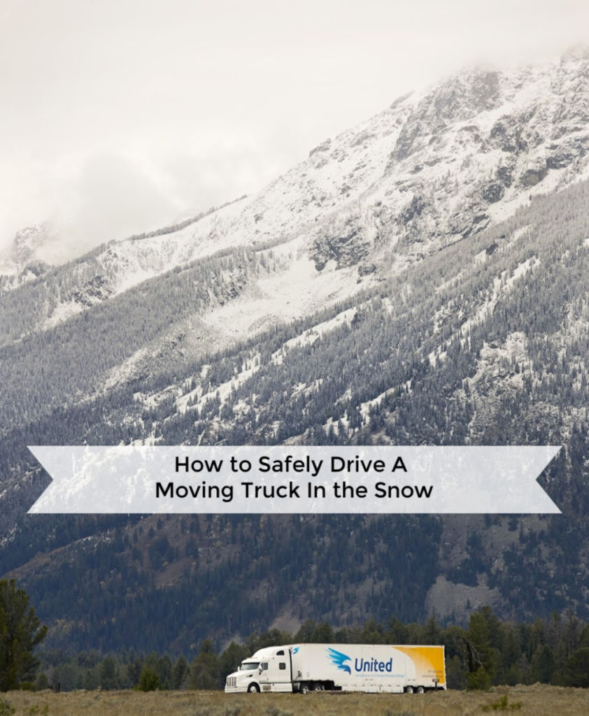 How to Drive A Moving Truck In The Snow